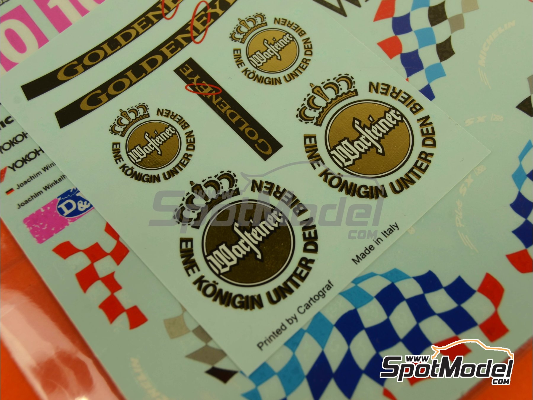 Image 13: BMW 318i Warsteiner - Guia Race of Macau, German Supertouring Championship - STW 1995 | Marking / livery in 1/24 scale manufactured by Decalpool (ref.DP109)
