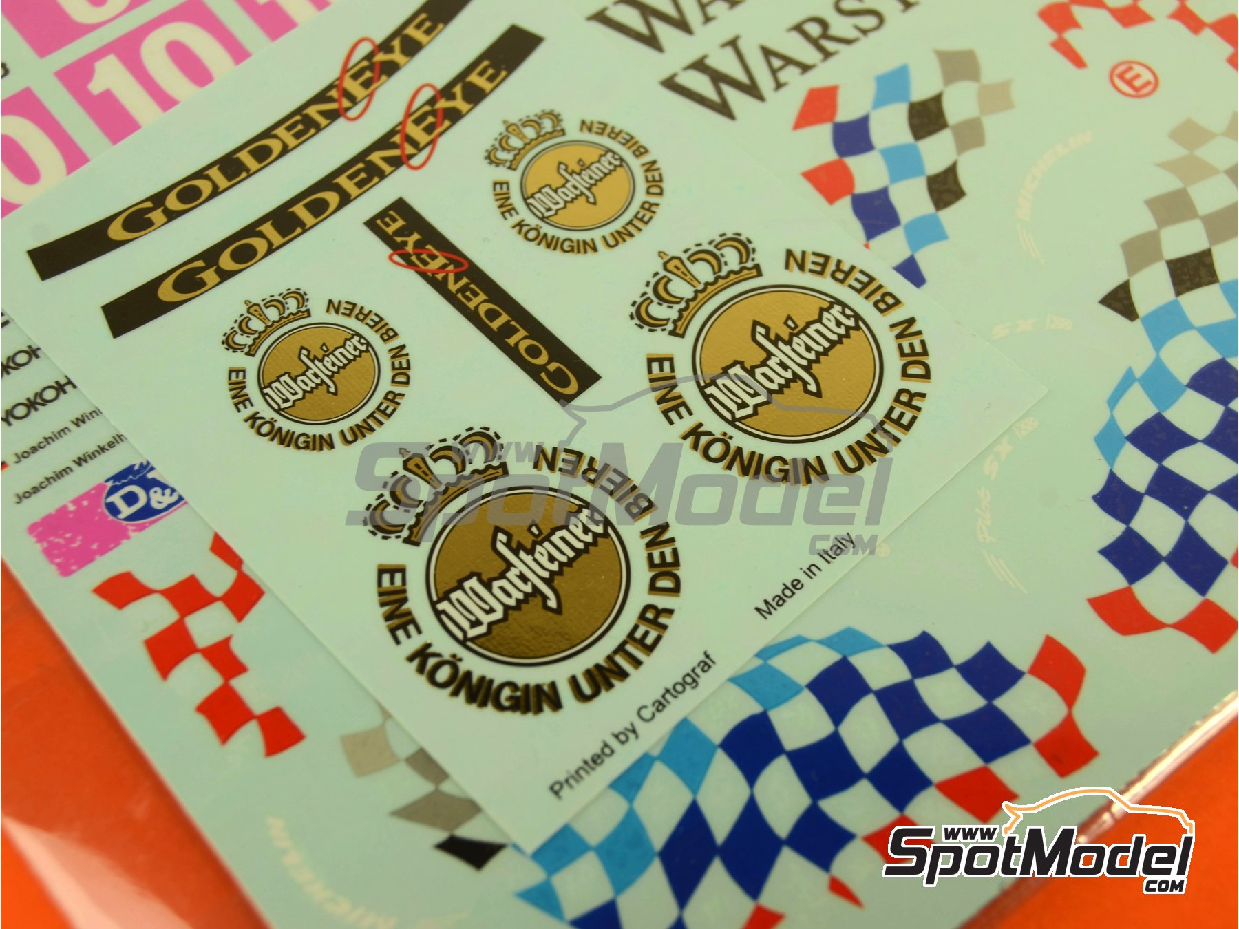 Image 14: BMW 318i Warsteiner - Guia Race of Macau, German Supertouring Championship - STW 1995 | Marking / livery in 1/24 scale manufactured by Decalpool (ref.DP109)