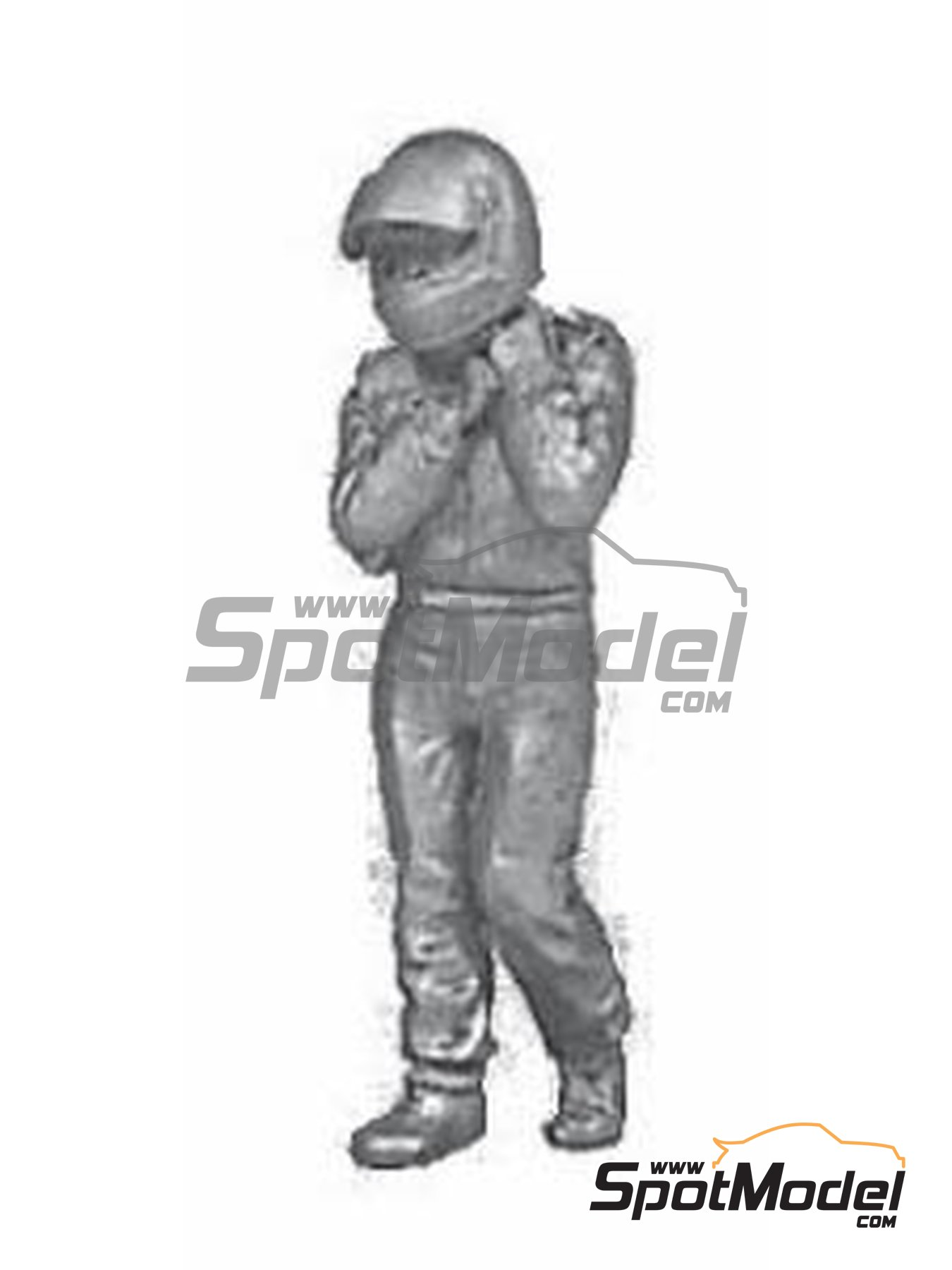 F1 driver | Figure in 1/43 scale manufactured by Denizen (ref. RD006) image