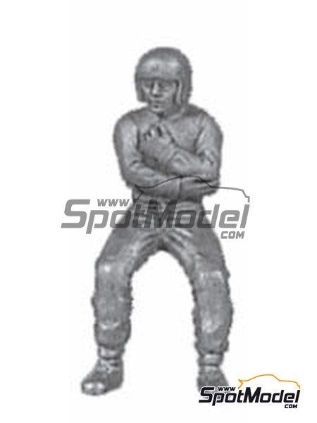 Classic F1 driver | Figure in 1/43 scale manufactured by Denizen (ref.RD025) image