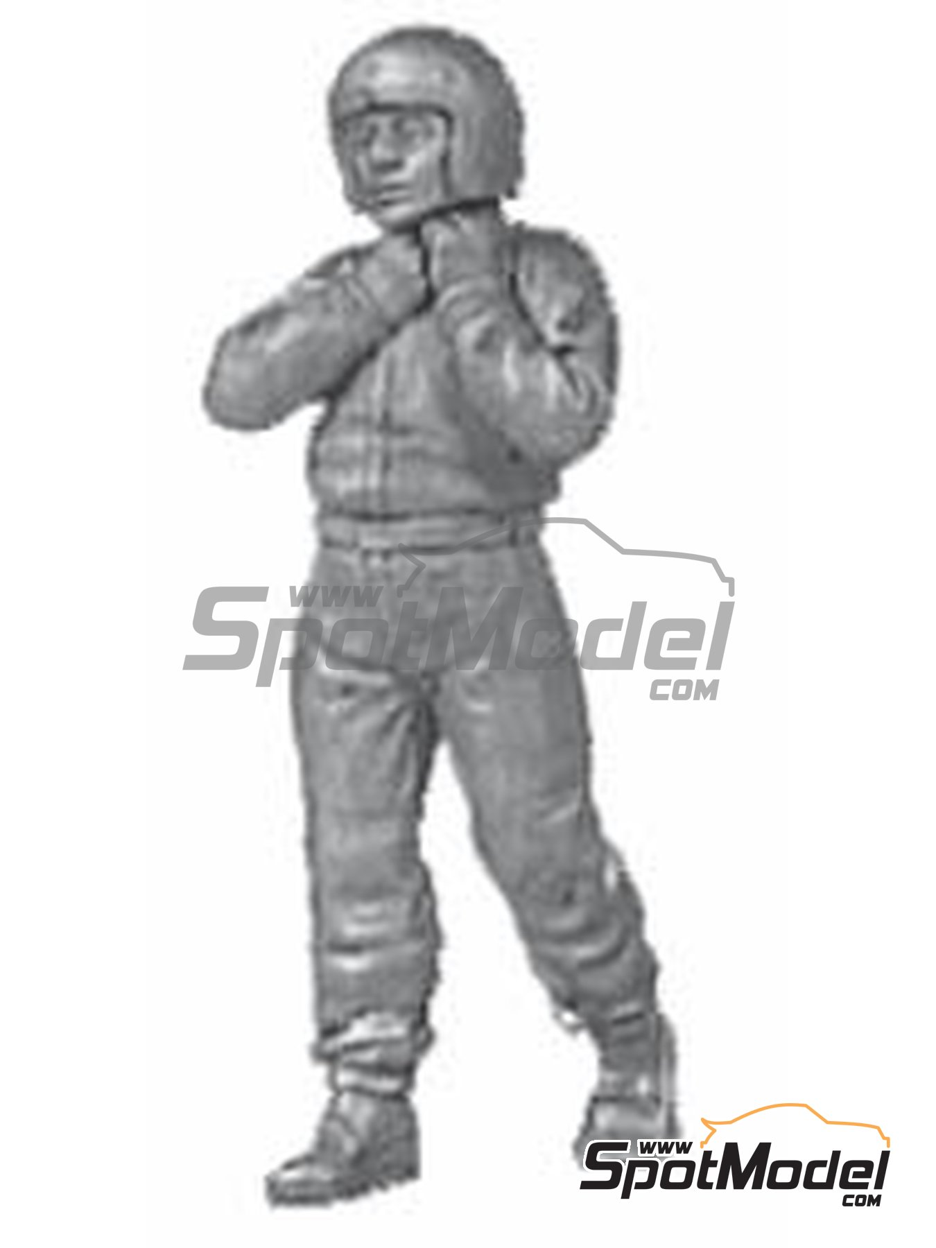 Classic F1 driver | Figure in 1/43 scale manufactured by Denizen (ref. RD028) image