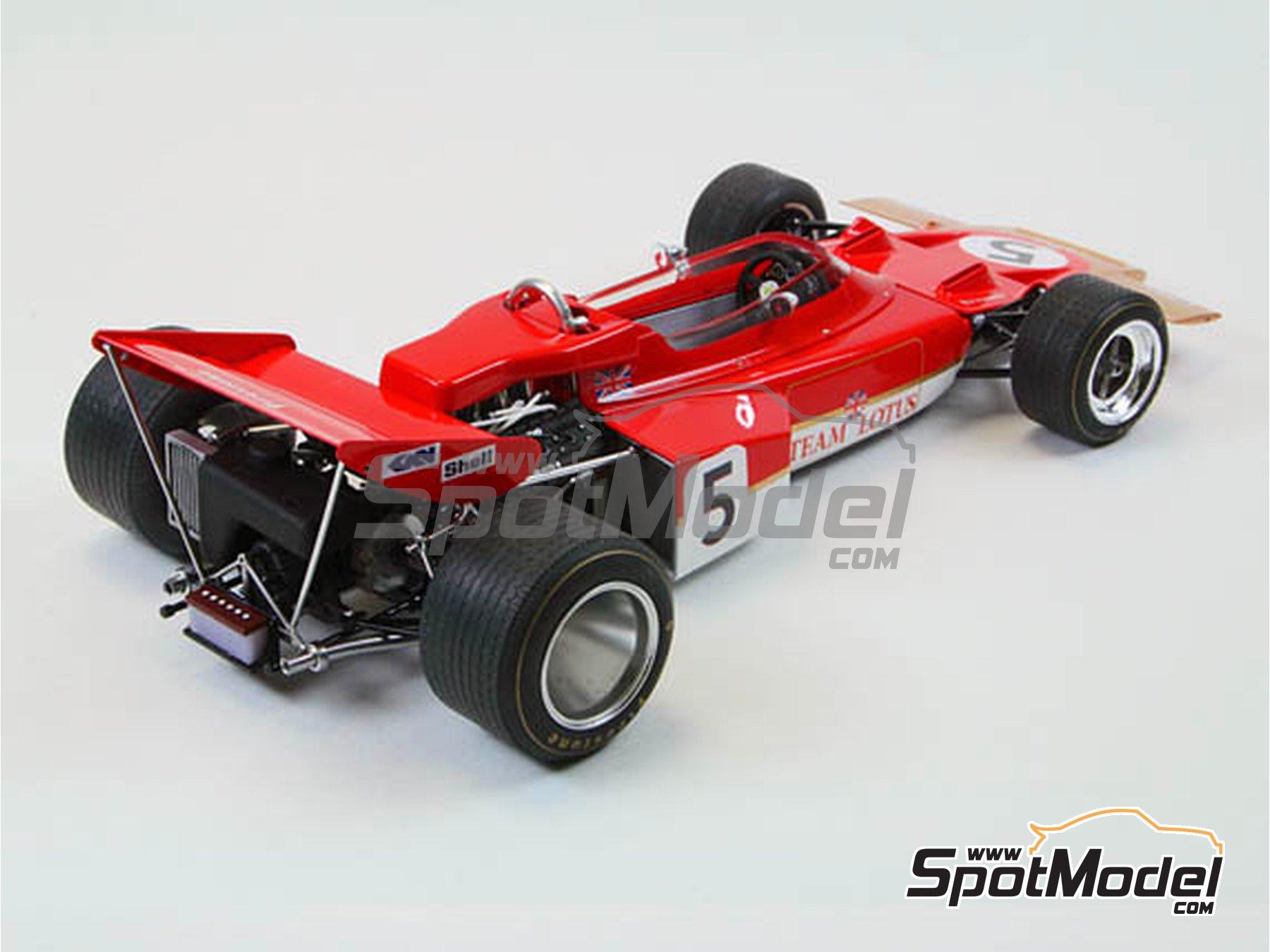 Image 4: Lotus Ford Type 72C Gold Leaf - Campeonato del Mundo de Formula1 1970 | Maqueta de coche en escala1/20 fabricado por Ebbro (ref.EBR20001, tambien 20001 y EBRPK-01)