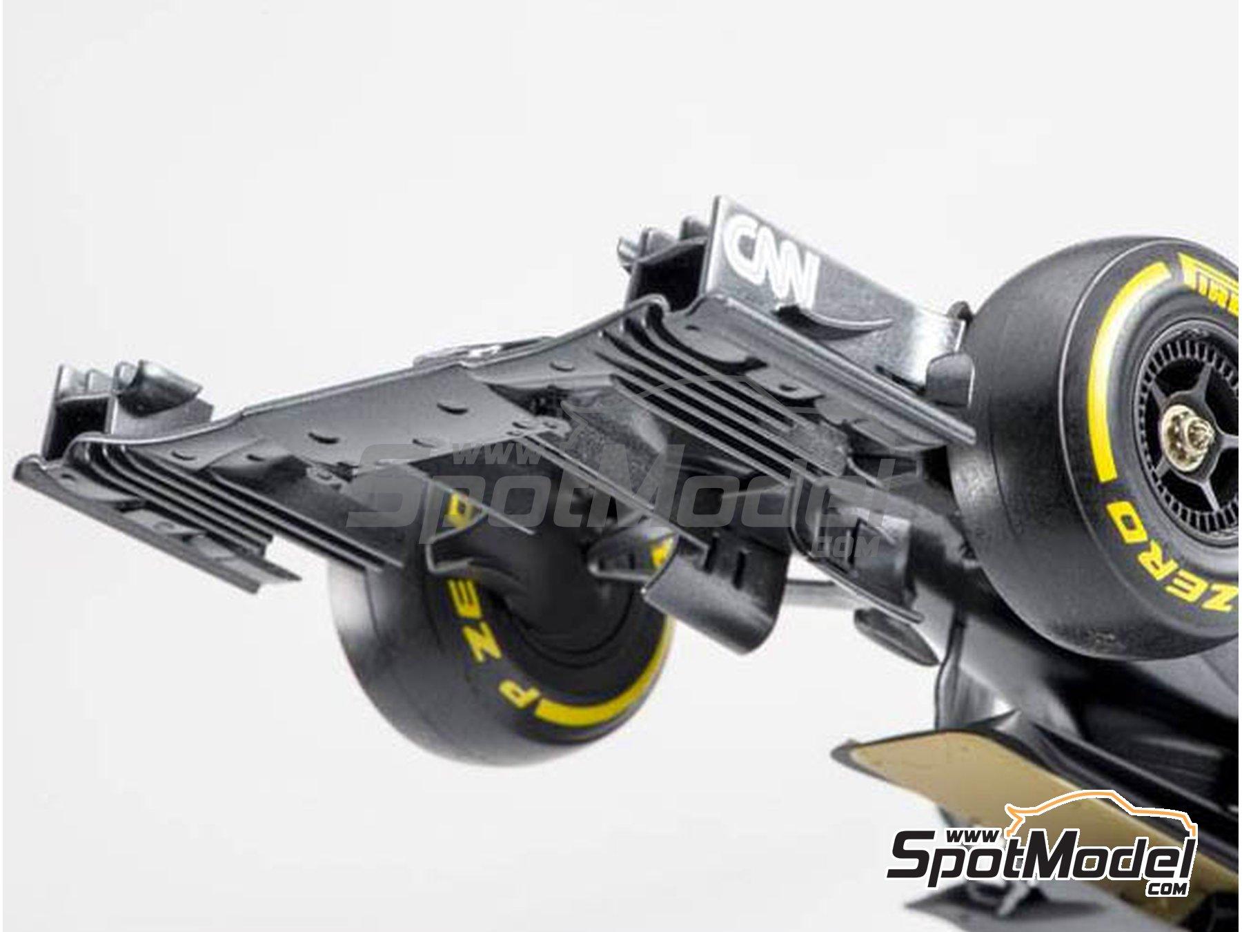 Image 9: McLaren Honda MP4/31 - Spanish Grand Prix 2016 | Model car kit in 1/20 scale manufactured by Ebbro (ref.EBR20018)