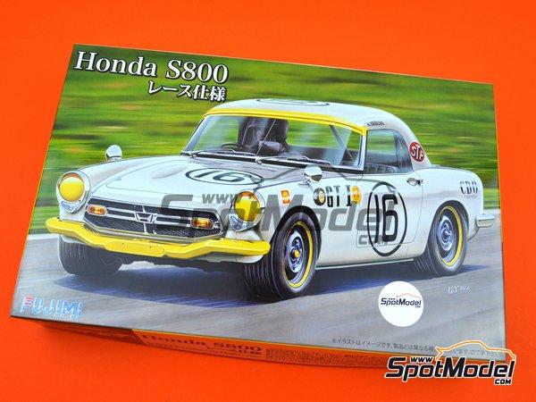 Image 12: Honda S800 | Model car kit in 1/24 scale manufactured by Fujimi (ref.FJ038988)