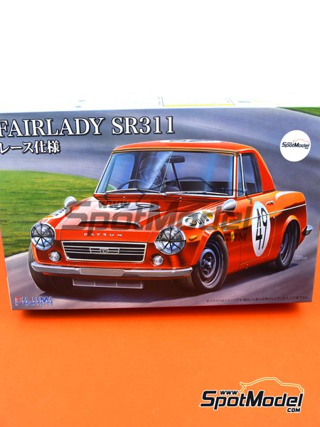 Datsun Fairlady SR311 | Model car kit in 1/24 scale manufactured by Fujimi (ref. FJ039695) image