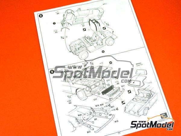 Image 9: Datsun Fairlady SR311 | Model car kit in 1/24 scale manufactured by Fujimi (ref.FJ039695)