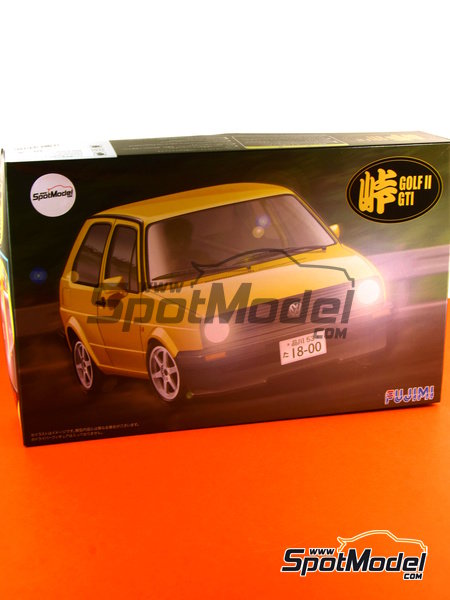 Volkswagen Golf II GTI | Model car kit in 1/24 scale manufactured by Fujimi (ref.FJ046020, also 04602 and 46020) image