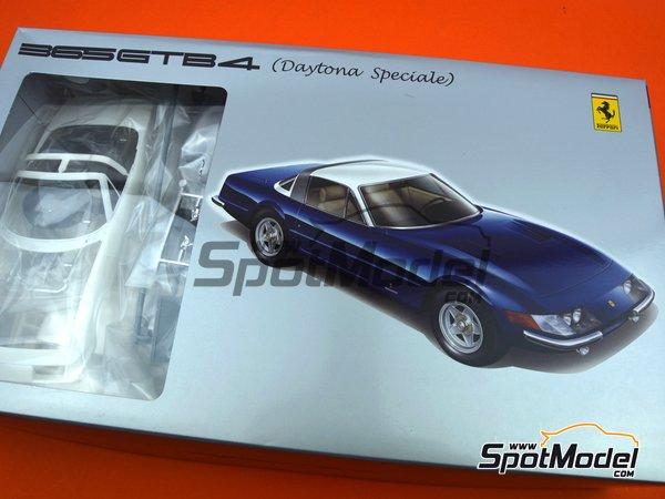 Image 21: Ferrari 365 GTB/4 Daytona Speciale | Maqueta de coche en escala1/24 fabricado por Fujimi (ref.FJ082592)