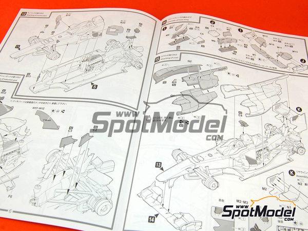 Image 11: Ferrari F10 Banco Santander - Gran Premio de Fórmula 1 de Japón 2010   Maqueta de coche en escala1/20 fabricado por Fujimi (ref.FJ090870, tambien 090870, 09087 y GP-32)