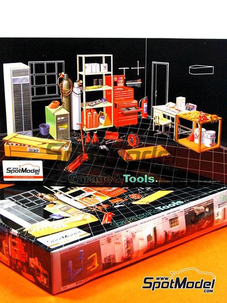 Herramientas | Maqueta en escala1/24 fabricado por Fujimi (ref.FJ110325) image