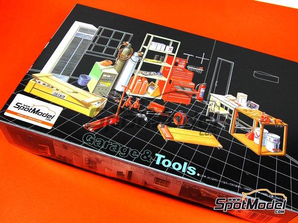 Image 1: Herramientas | Maqueta en escala1/24 fabricado por Fujimi (ref.FJ110325)