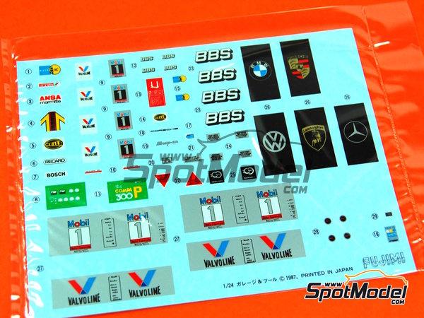 Image 5: Herramientas | Maqueta en escala1/24 fabricado por Fujimi (ref.FJ110325)