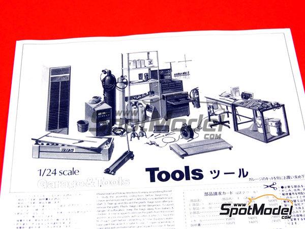 Image 8: Herramientas | Maqueta en escala1/24 fabricado por Fujimi (ref.FJ110325)