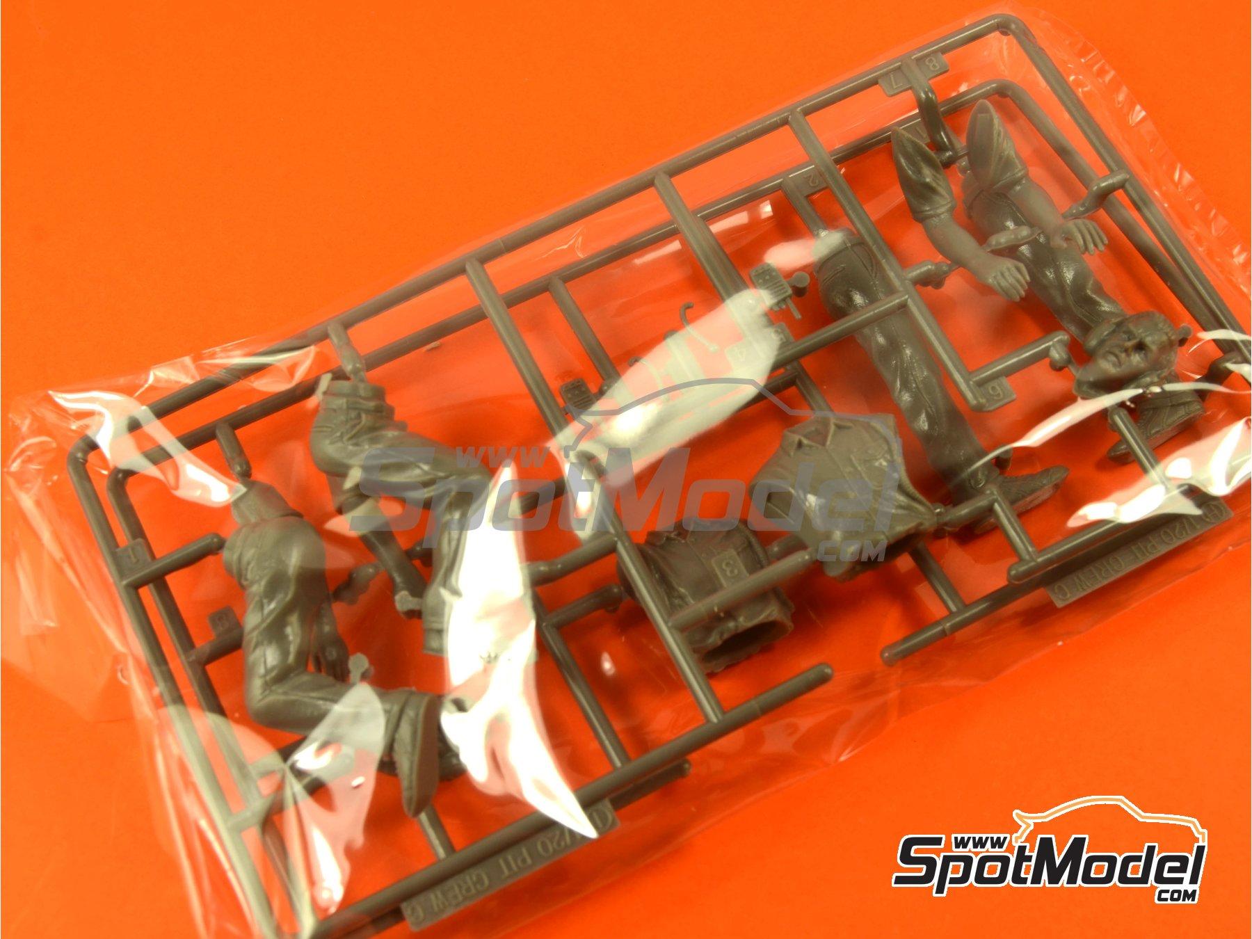 Image 5: Equipo de dirección y cabina | Set de figuras en escala1/20 fabricado por Fujimi (ref.FJ113326)