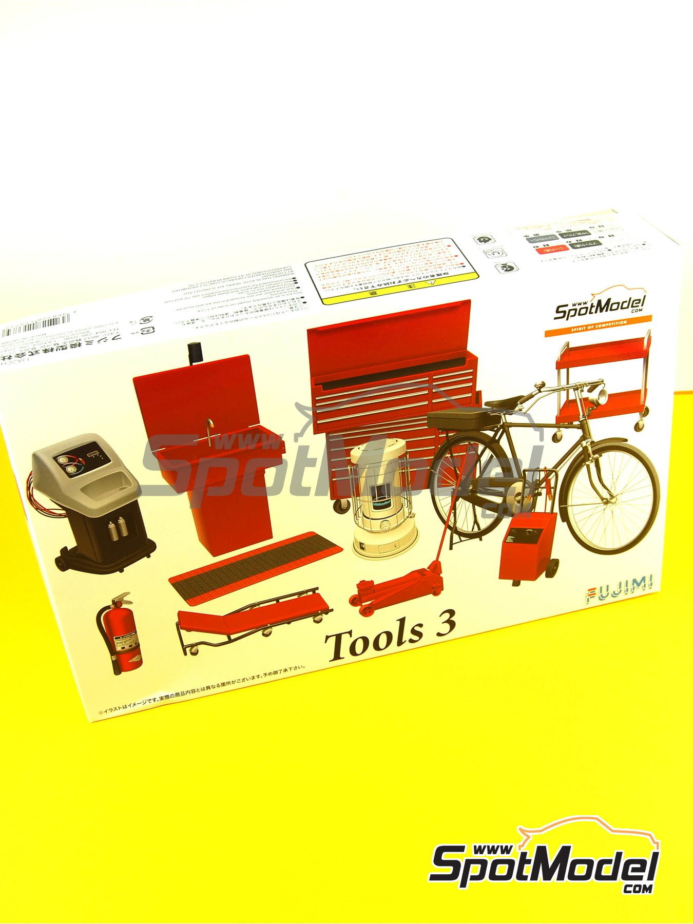 Tools - Set 3   Model kit in 1/24 scale manufactured by Fujimi (ref.FJ113739, also 113739 and GT27) image