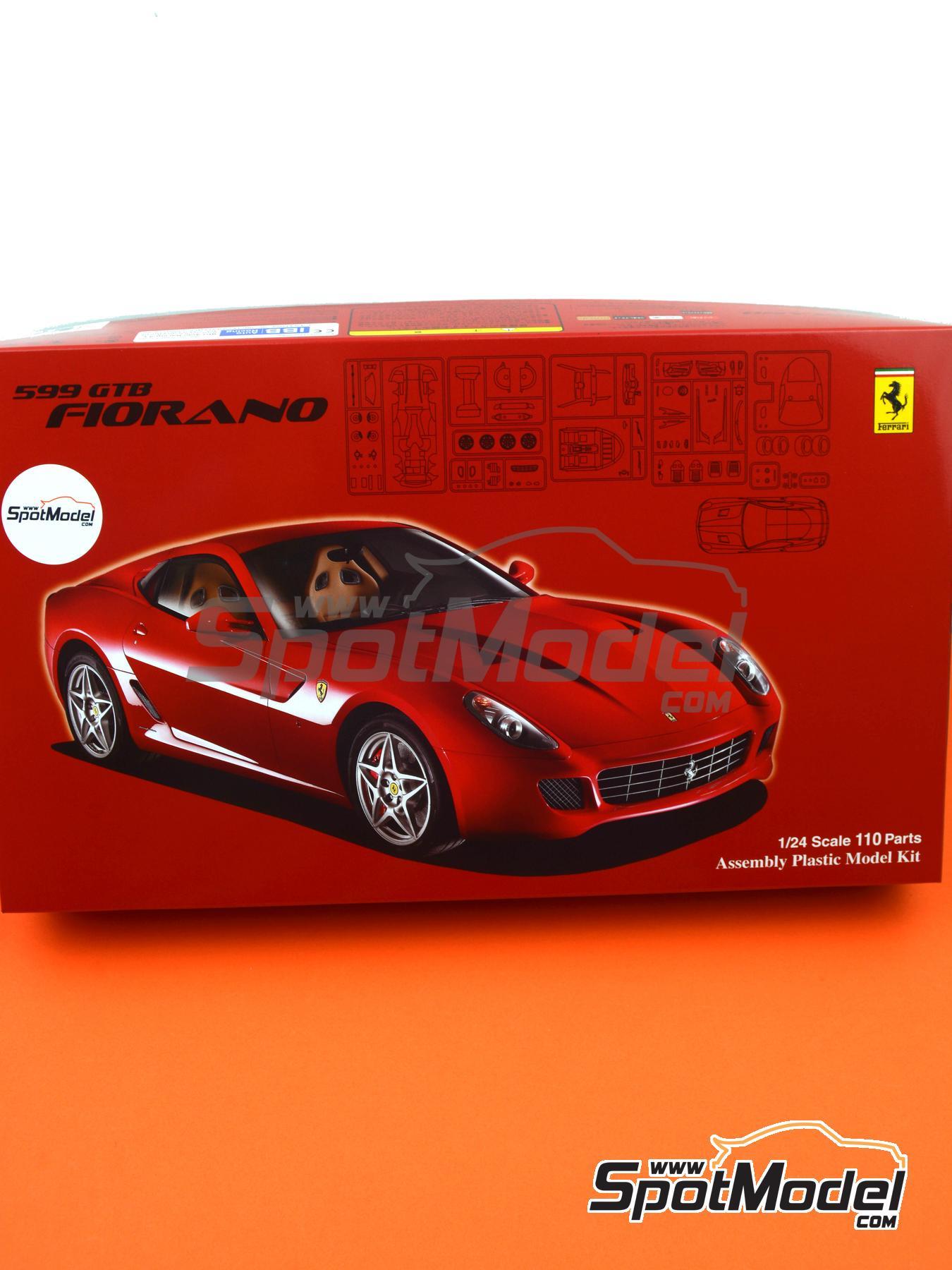 Ferrari 599 GTB Fiorano | Maqueta de coche en escala1/24 fabricado por Fujimi (ref.FJ122779, tambien 122779, 12277 y RS-50) image