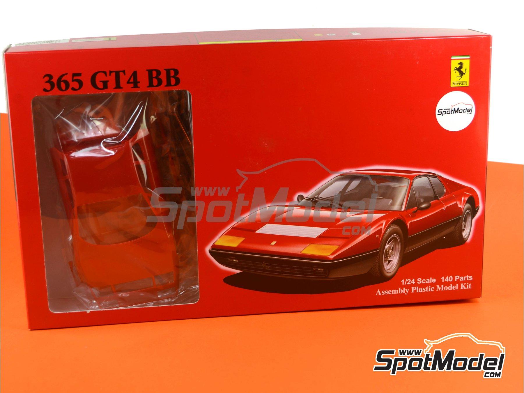 Image 14: Ferrari 365 GT4 BB | Maqueta de coche en escala1/24 fabricado por Fujimi (ref.FJ122809, tambien 122809 y RS-25)