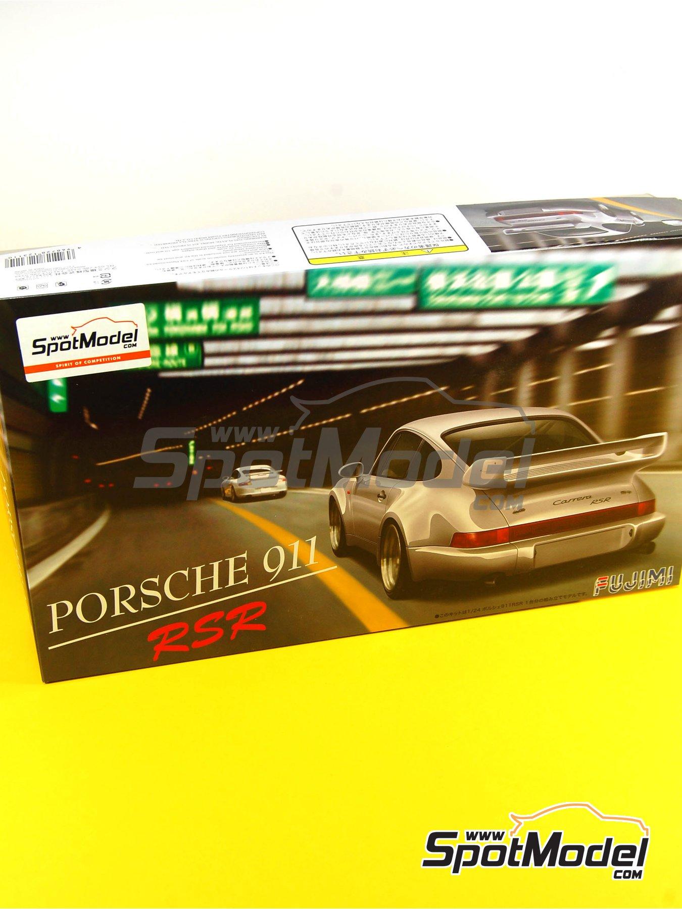 Porsche 911 964 Carrera 3.8 RSR | Maqueta de coche en escala1/24 fabricado por Fujimi (ref.FJ123110, tambien 123110) image