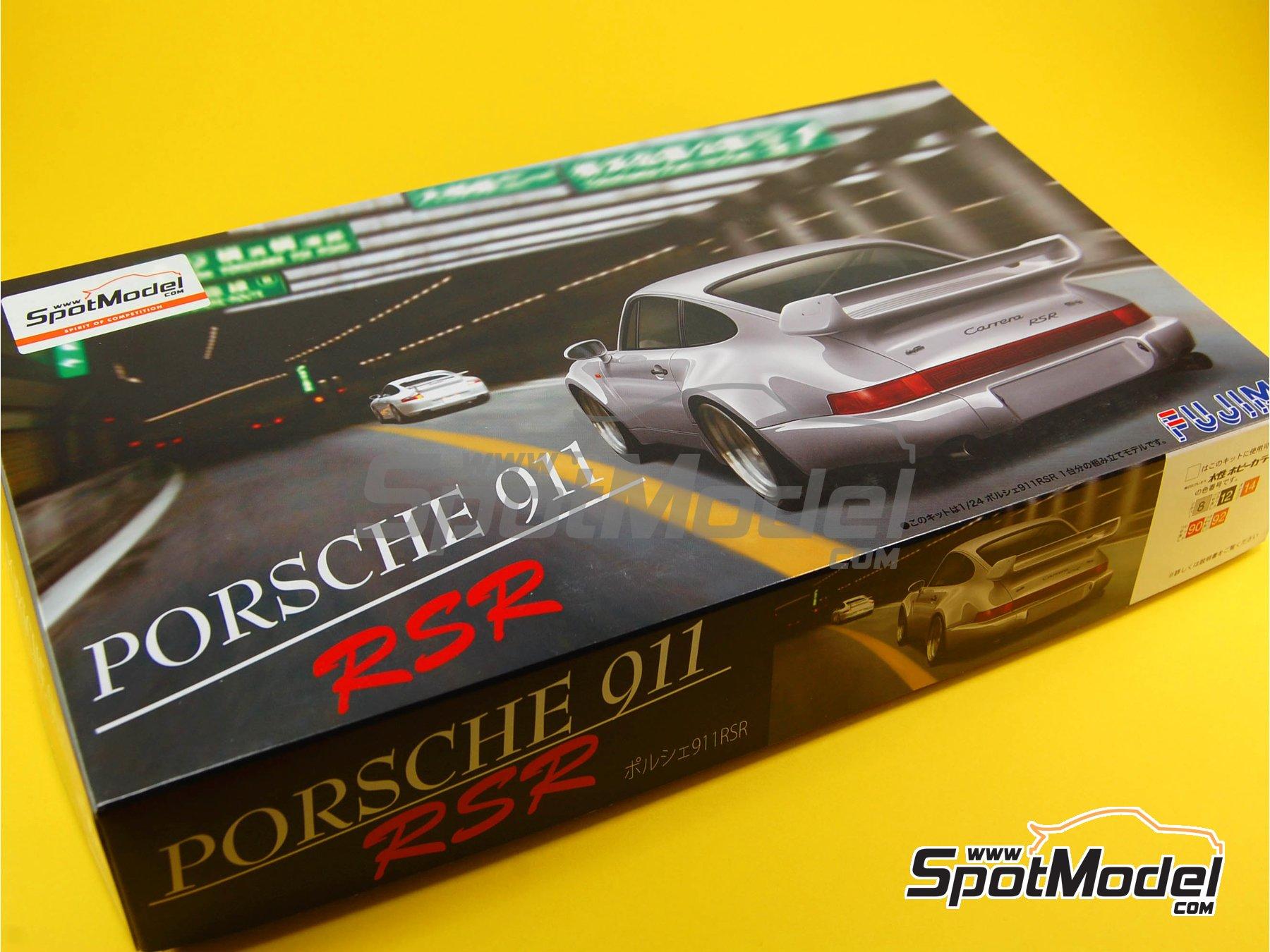 Image 1: Porsche 911 964 Carrera 3.8 RSR | Maqueta de coche en escala1/24 fabricado por Fujimi (ref.FJ123110, tambien 123110)
