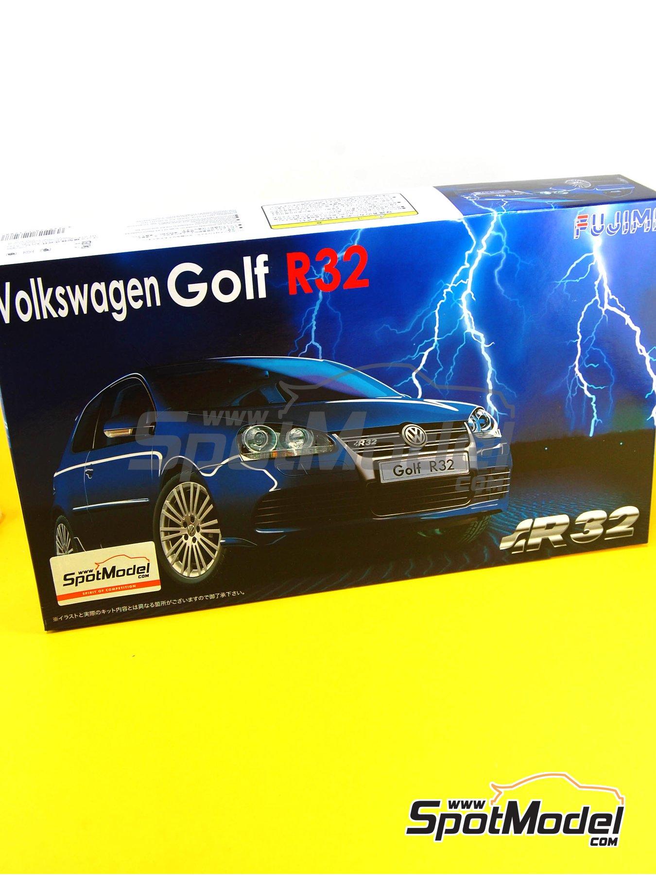 Volkswagen Golf R32 | Maqueta de coche en escala1/24 fabricado por Fujimi (ref.FJ123288, tambien 123288 y 12328) image