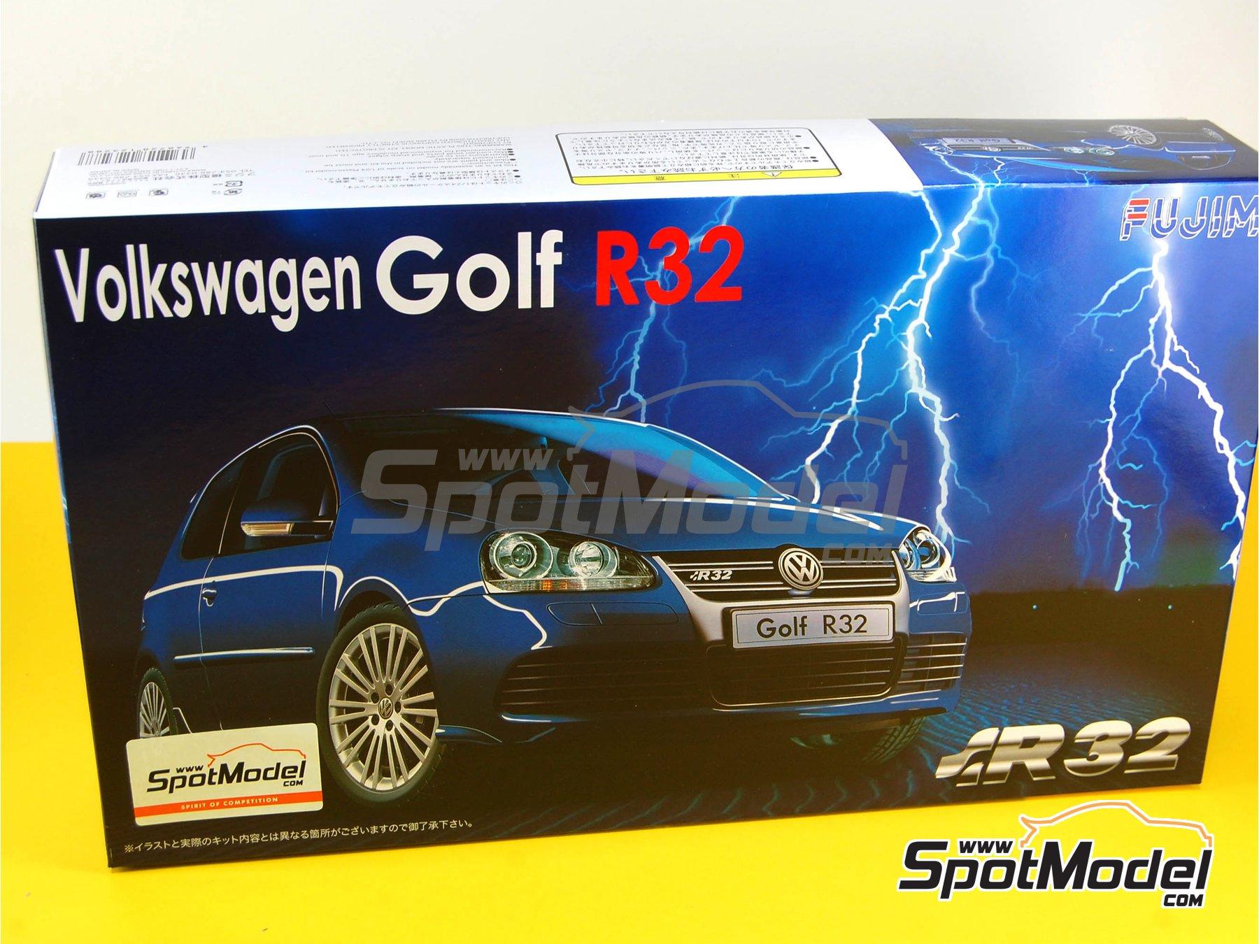 Image 1: Volkswagen Golf R32 | Maqueta de coche en escala1/24 fabricado por Fujimi (ref.FJ123288, tambien 123288 y 12328)