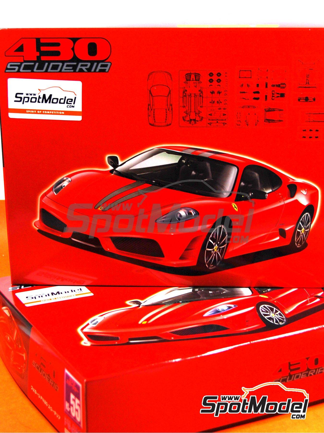 Ferrari F430 Scuderia | Model Car Kit In 1/24 Scale Manufactured By Fujimi (