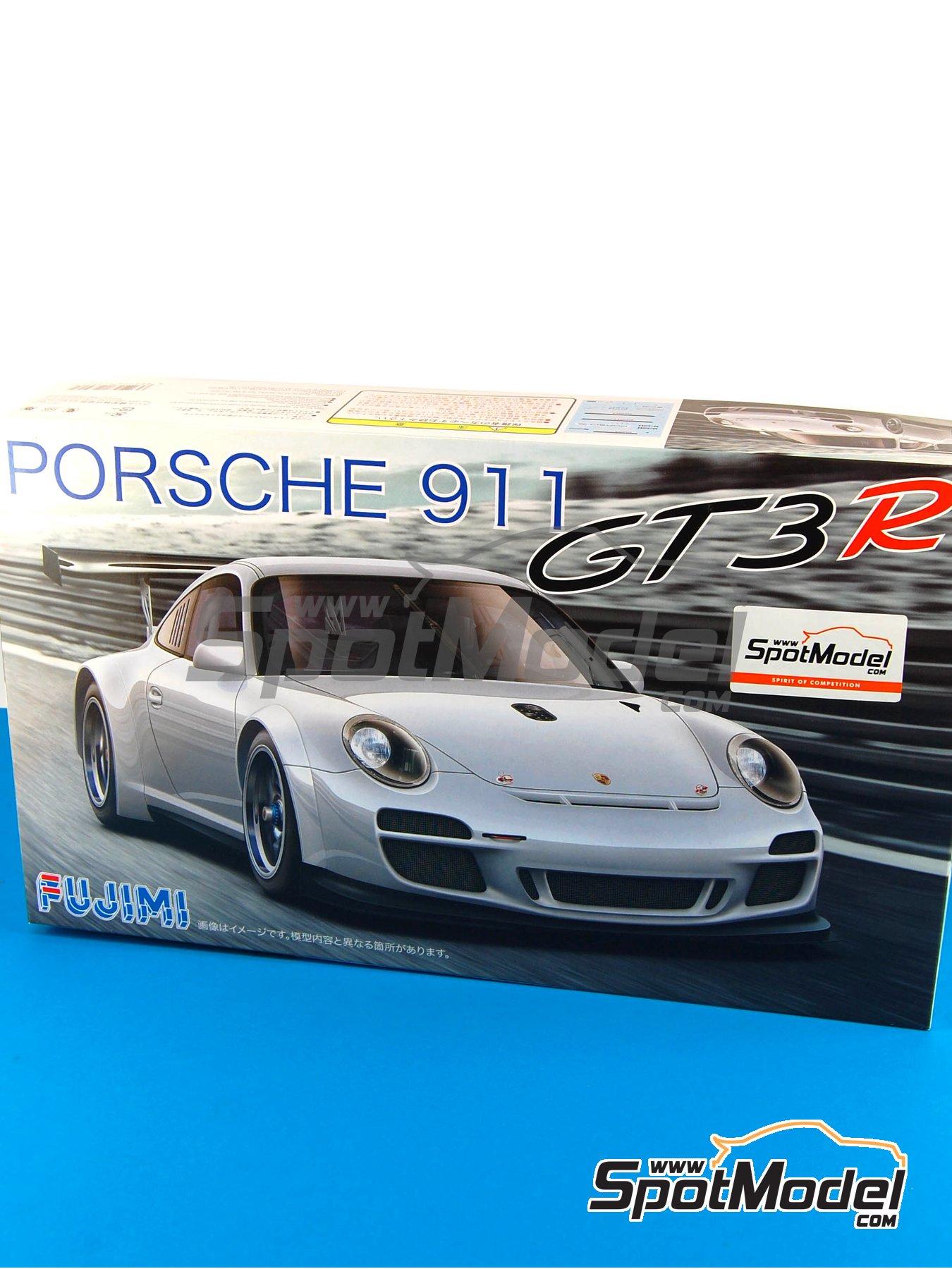 Porsche 911 GT3R   Maqueta de coche en escala1/24 fabricado por Fujimi (ref.FJ123905, tambien 123905 y RS-85) image