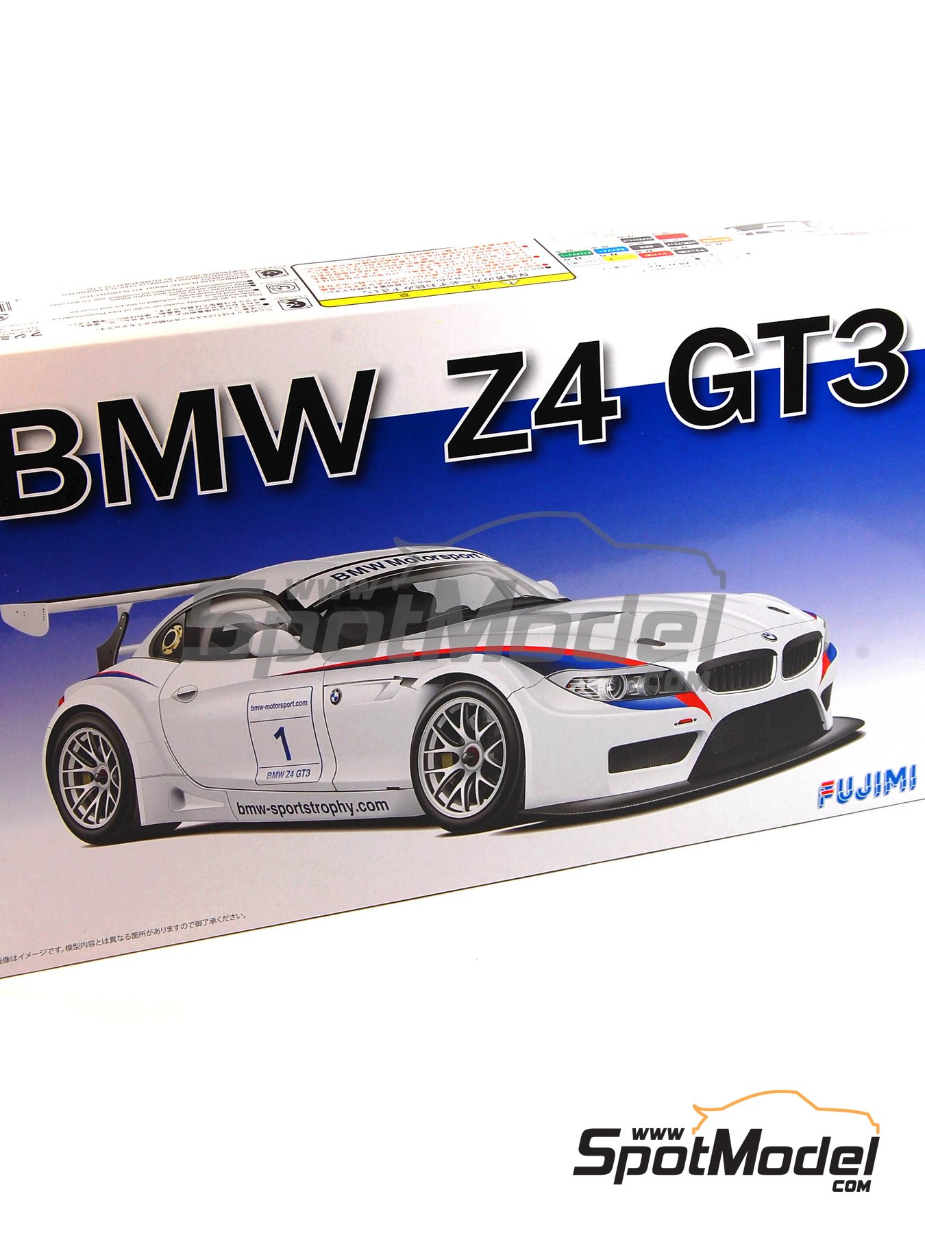 BMW Z4 GT3 | Maqueta de coche en escala1/24 fabricado por Fujimi (ref.FJ125565, tambien 125565 y RS-31) image