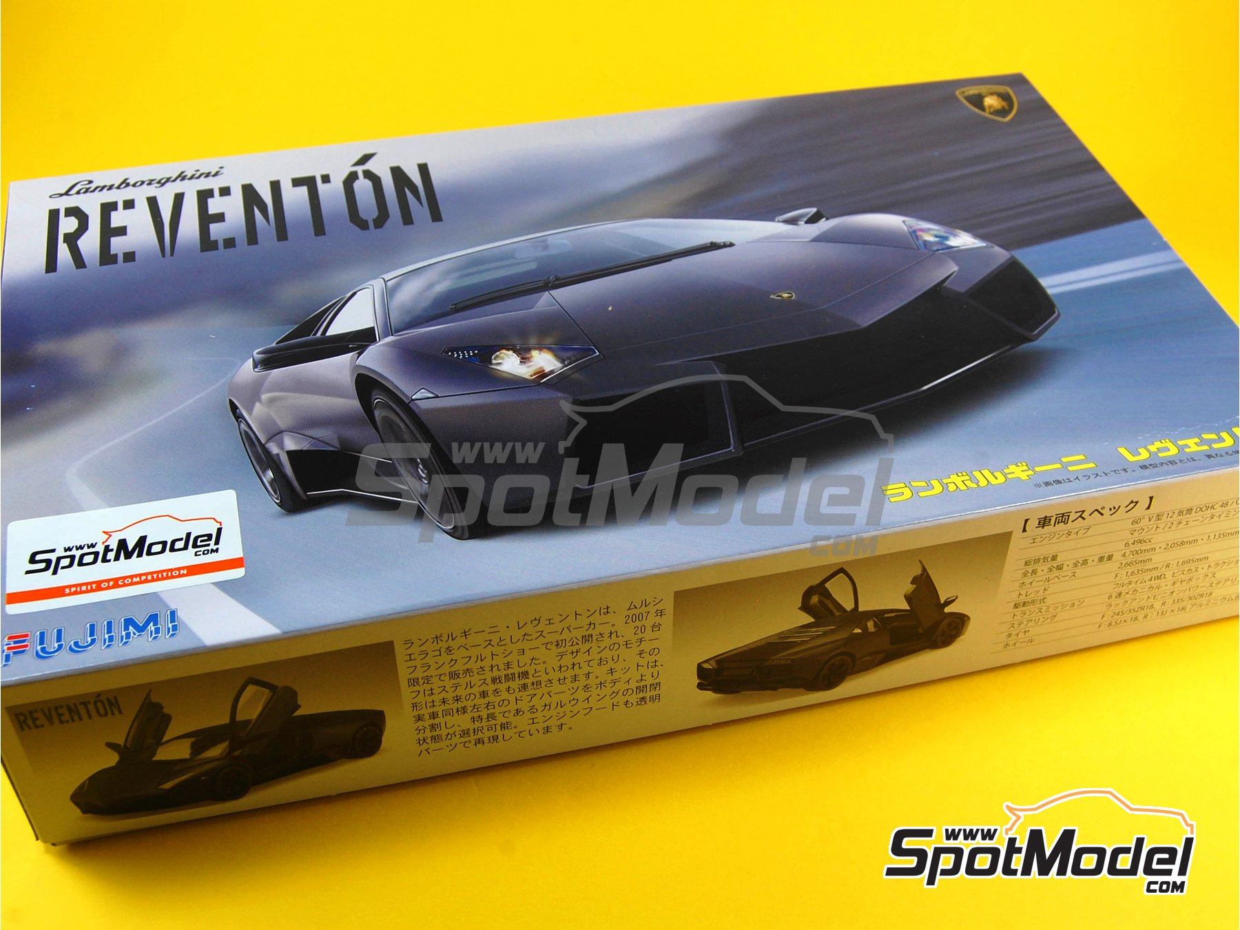 Image 1: Lamborghini Reventon | Model Car Kit In 1/24 Scale Manufactured By  ...