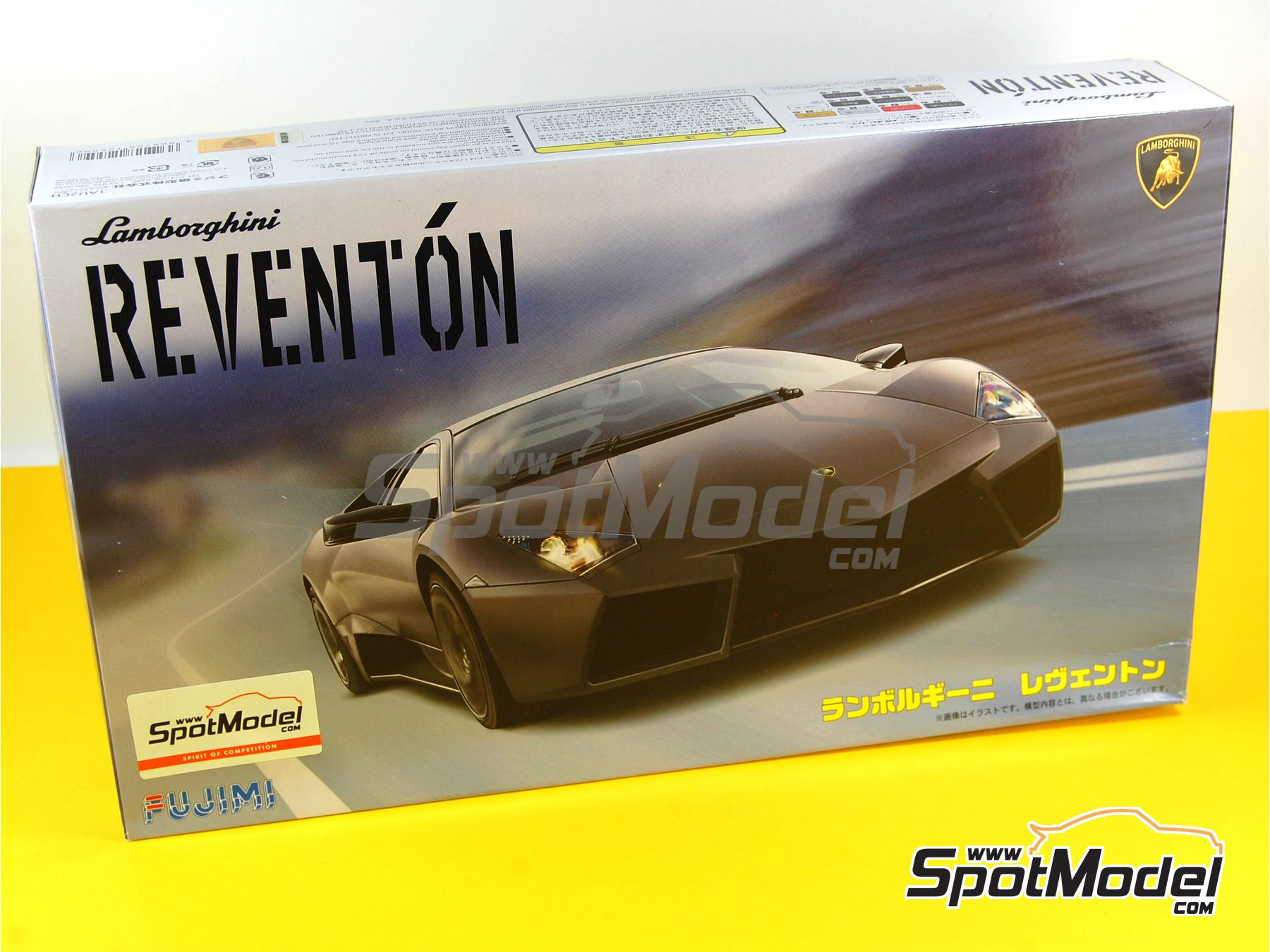 ... Image 15: Lamborghini Reventon | Model Car Kit In 1/24 Scale  Manufactured By