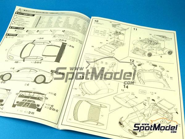 Image 2: Ferrari F430 Challenge | Model car kit in 1/24 scale manufactured by Fujimi (ref.FJ12560)