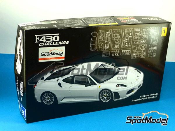 Image 11: Ferrari F430 Challenge | Model car kit in 1/24 scale manufactured by Fujimi (ref.FJ12560)
