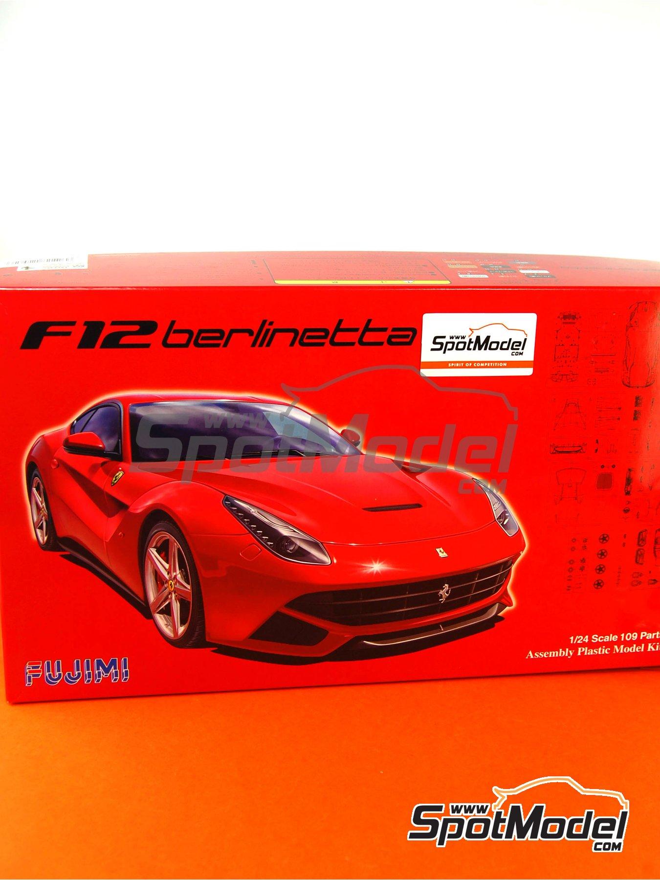Ferrari F12 Berlinetta | Model car kit in 1/24 scale manufactured by Fujimi (ref.FJ125626, also 125626 and RS-54) image