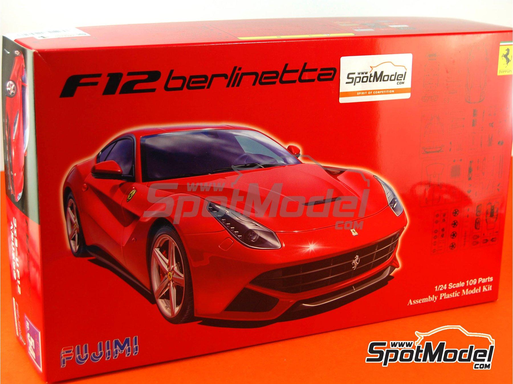 Image 16: Ferrari F12 Berlinetta | Model car kit in 1/24 scale manufactured by Fujimi (ref.FJ125626, also 125626 and RS-54)