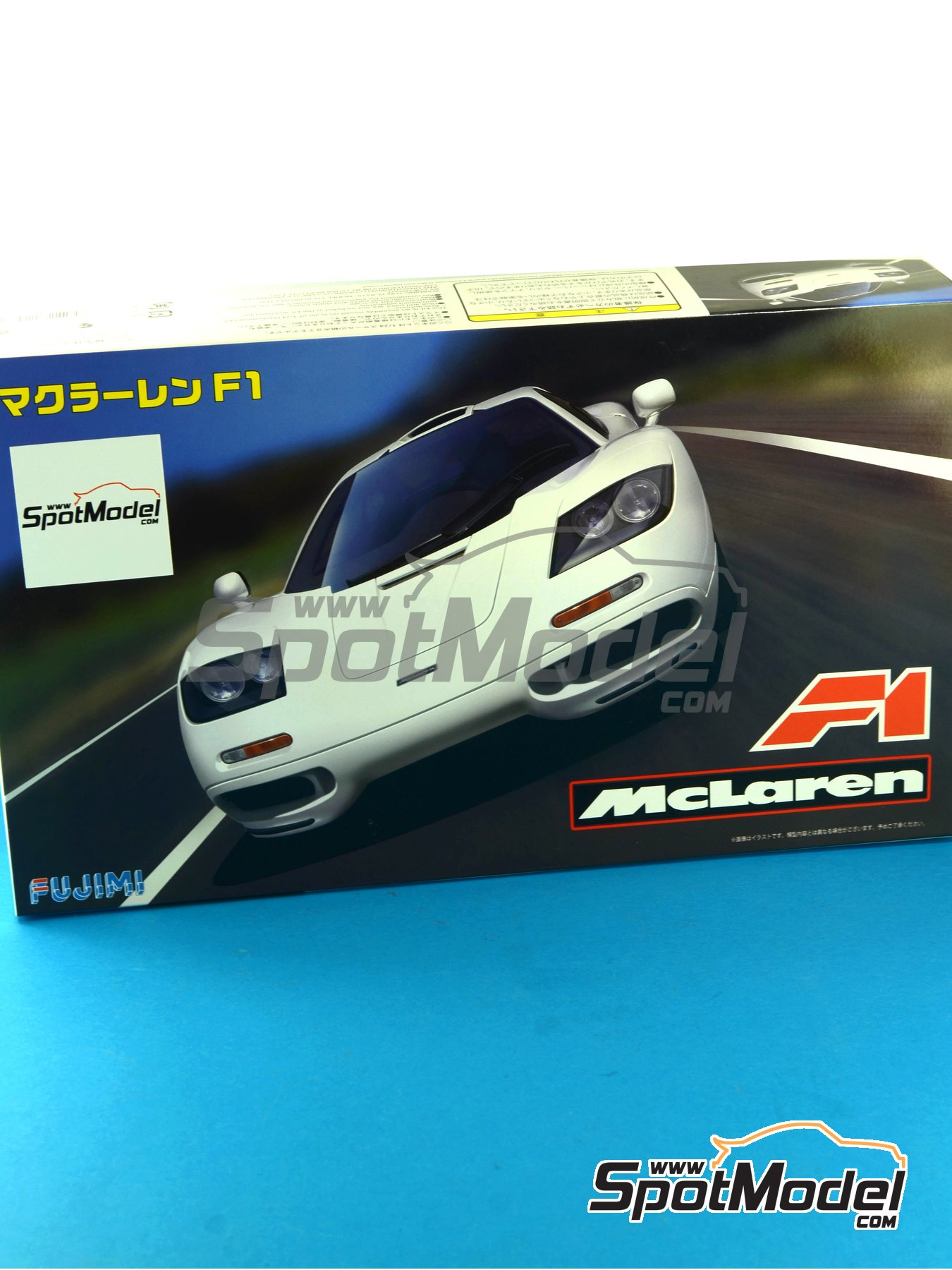 McLaren F1 | Model car kit in 1/24 scale manufactured by Fujimi (ref.FJ12573, also 12573, RS-66 and 125732) image