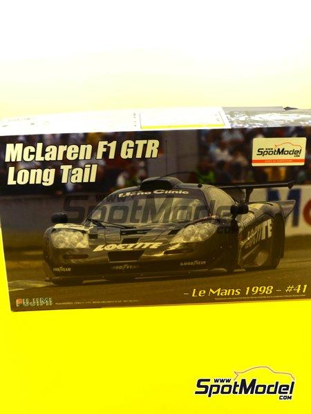McLaren F1 GTR Long Tail - Cola larga Loctite - 24 Horas de Le Mans | Maqueta de coche en escala1/24 fabricado por Fujimi (ref.FJ12580) image