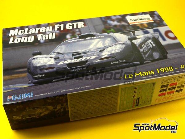 Image 1: McLaren F1 GTR Long Tail - Cola larga Loctite - 24 Horas de Le Mans | Maqueta de coche en escala1/24 fabricado por Fujimi (ref.FJ12580)