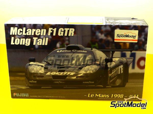 Image 17: McLaren F1 GTR Long Tail - Cola larga Loctite - 24 Horas de Le Mans | Maqueta de coche en escala1/24 fabricado por Fujimi (ref.FJ12580)
