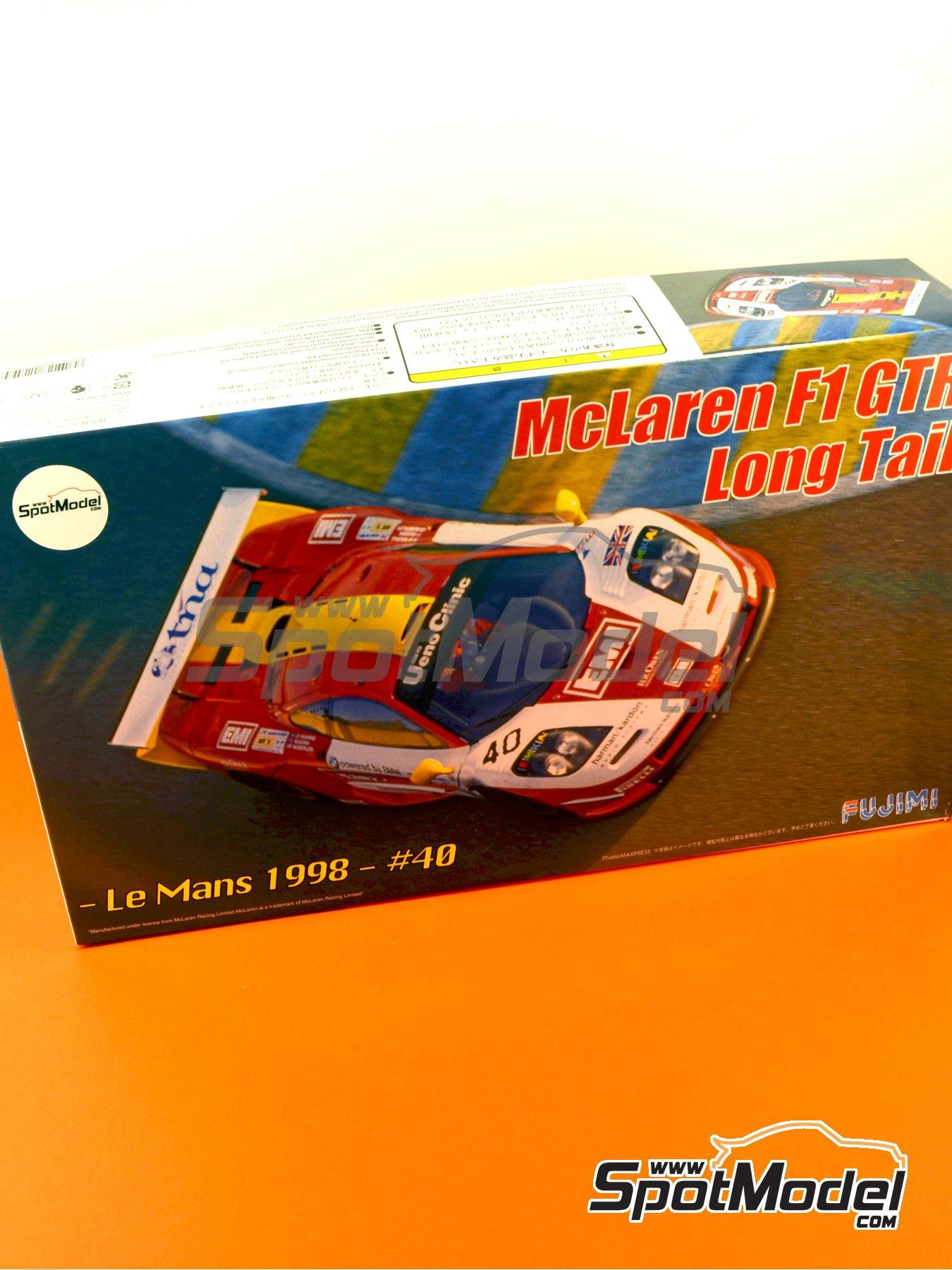 McLaren F1 GTR Long Tail EMI - 24 Horas de Le Mans 1998 | Maqueta de coche en escala1/24 fabricado por Fujimi (ref.FJ12594) image
