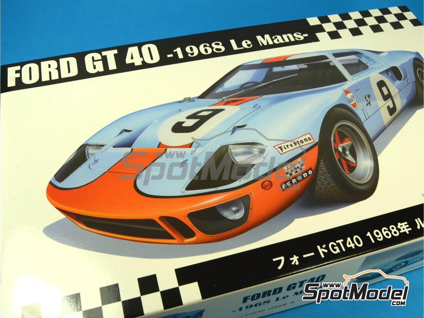 Image  Ford Gt Mk Ii Gulf  Hours Le Mans  Model
