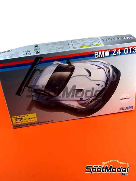 BMW Z4 GT3 -  2014 | Model kit in 1/24 scale manufactured by Fujimi (ref.FJ126081, also 126081 and RS-0) image