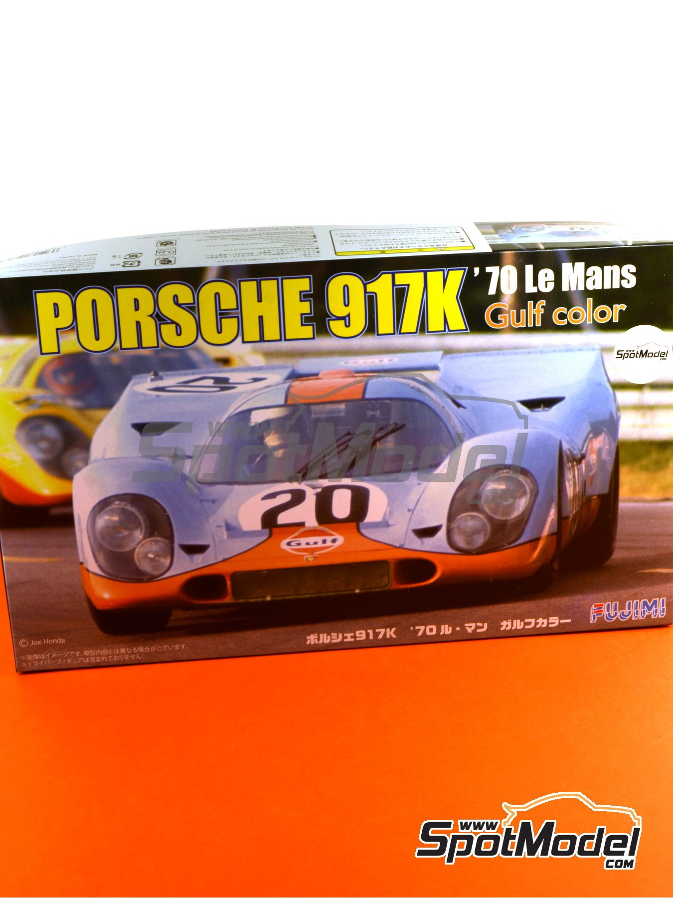 Porsche 917K Gulf - 24 Hours Le Mans 1970   Model car kit in 1/24 scale manufactured by Fujimi (ref.FJ126135, also 126135, 12613 and RS-4) image