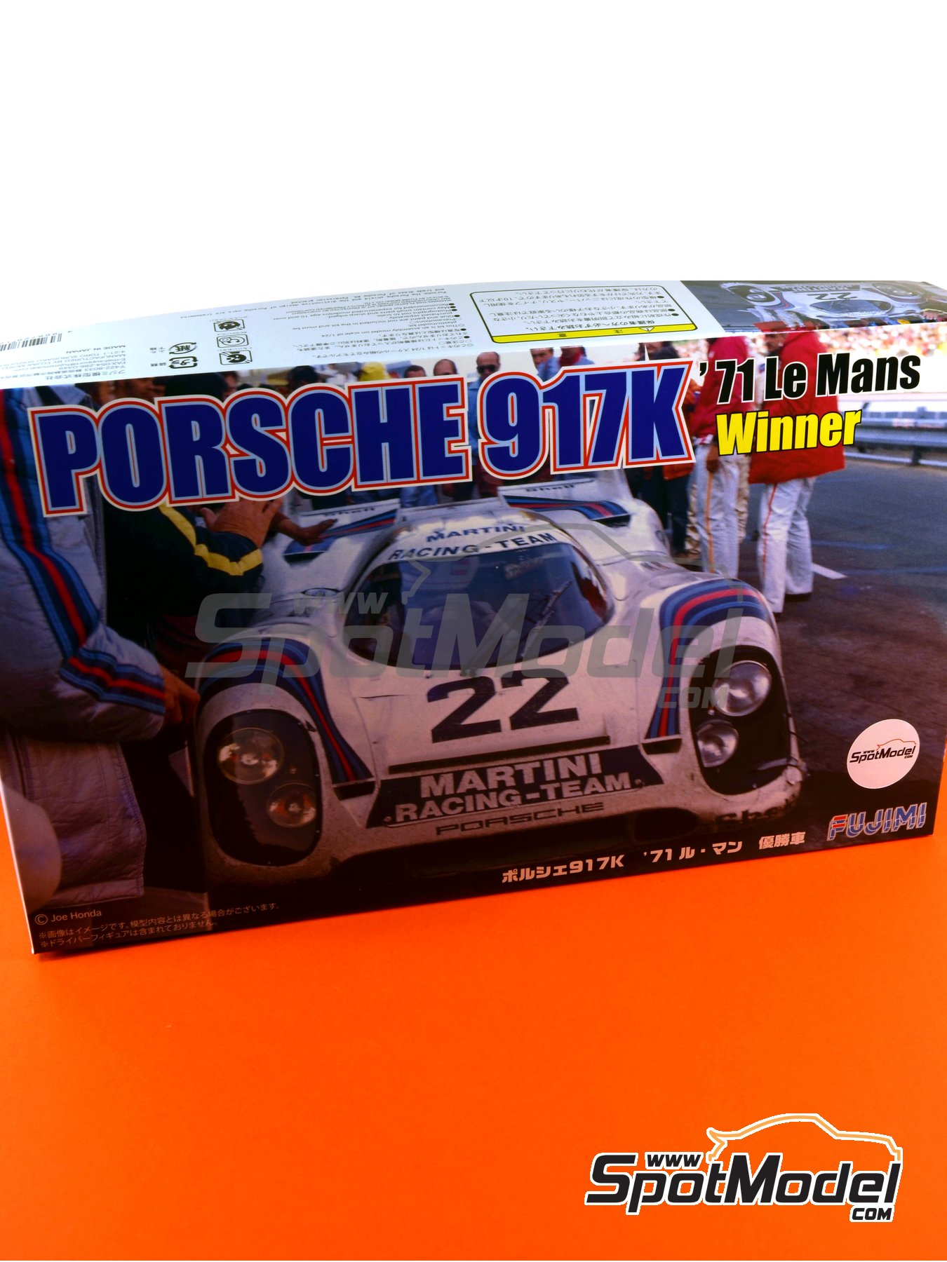 Porsche 917K Martini - 24 Hours Le Mans 1971 | Model car kit in 1/24 scale manufactured by Fujimi (ref.FJ126142, also 126142, 12614 and RS-88) image