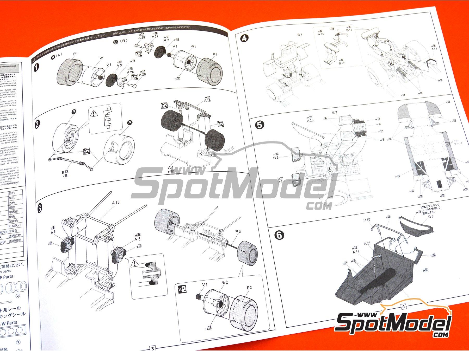 Image 13: Ferrari F40 LeMans | Maqueta de coche en escala1/24 fabricado por Fujimi (ref.FJ126456, tambien 126456 y RS-114)