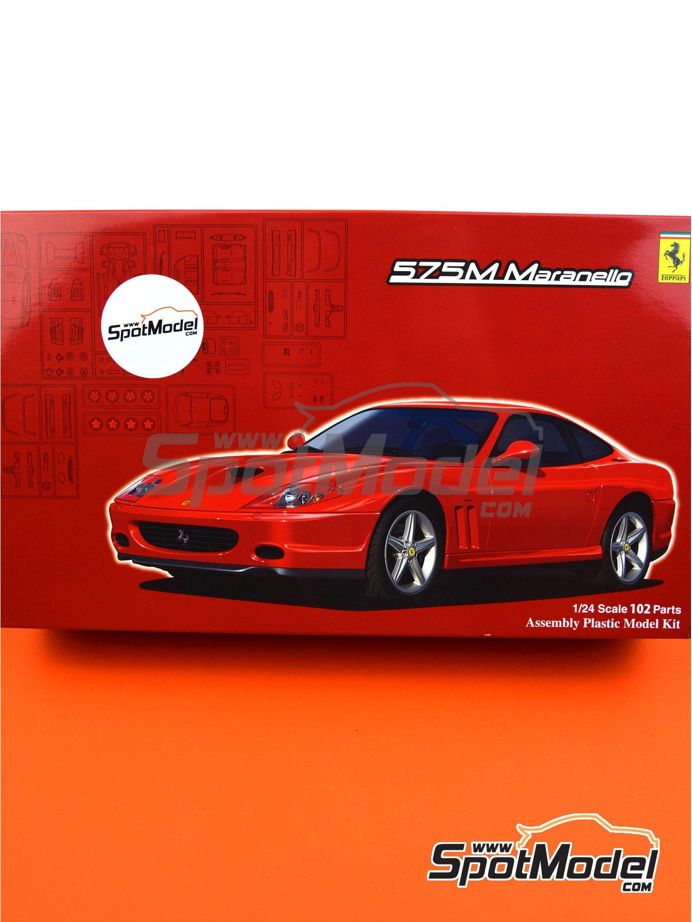 Ferrari 575M / 550 Maranello | Maqueta de coche en escala1/24 fabricado por Fujimi (ref.FJ126531, tambien 126531 y RS-117) image