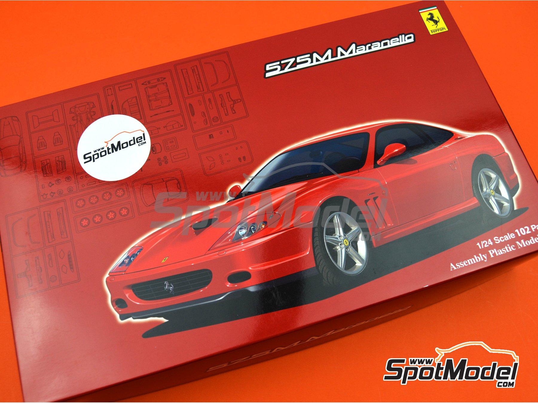 Image 16: Ferrari 575M / 550 Maranello | Maqueta de coche en escala1/24 fabricado por Fujimi (ref.FJ126531, tambien 126531 y RS-117)