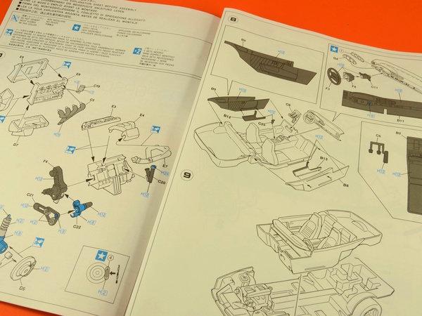 Image 8: Porsche 968 | Maqueta de coche en escala1/24 fabricado por Hasegawa (ref.20259)