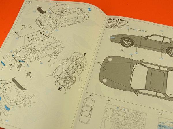 Image 9: Porsche 968 | Maqueta de coche en escala1/24 fabricado por Hasegawa (ref.20259)