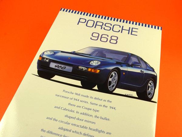 Image 12: Porsche 968 | Maqueta de coche en escala1/24 fabricado por Hasegawa (ref.20259)