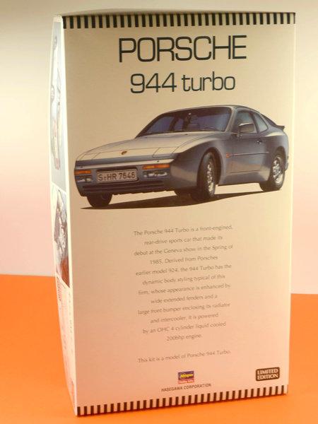 Porsche 944 Turbo | Maqueta de coche en escala1/24 fabricado por Hasegawa (ref.20260) image